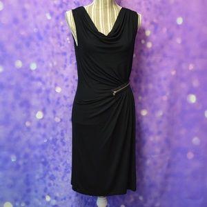 Design History Black Dress Size Medium